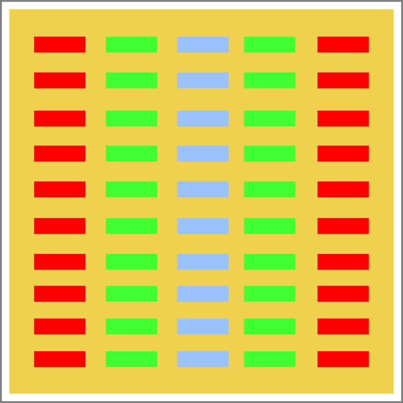 Schema einer Single Chip LED Leuchte